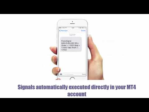 Receive real-time Forex signals on any phone in over 200 countries