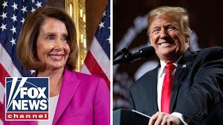 Steve Hilton: Pelosi stunts vs. Trump results