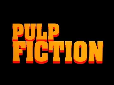 Pulp Fiction (1994) - Opening Credits