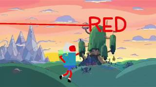 Adventure Tıme Finn, Learning the colors with Dog jake Song For Kids |   Learn Finger Family Colors