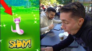 CATCHING A *SHINY* DRATINI in Pokémon Go! Community Day EVENT!