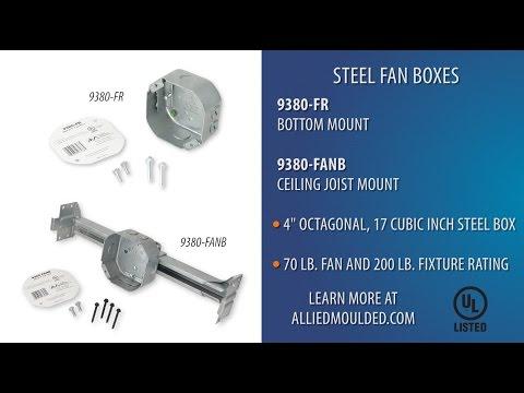 9380 Metal Fan Box Installation from Allied Moulded