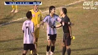 Video Sông Lam Nghệ An - Khánh Hòa (4-0)- Chủ nhà tiếp tục mạch thắng ấn tượng