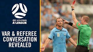 VAR & A-League referee conversation revealed