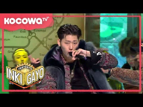 "[Inkigayo] Ep 934_""Shall We Dance"" by Block B"