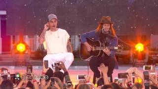 Justin Bieber Performs 'Love Yourself' on the ELLEN SHOW