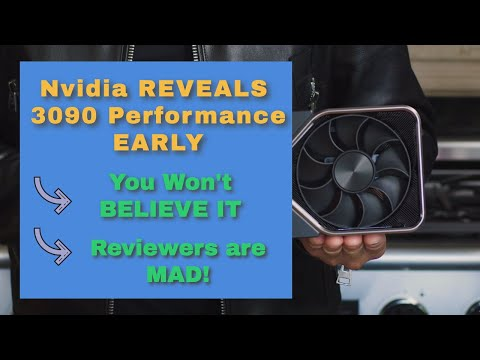NVIDIA REVEALS RTX 3090 Performance EARLY, REVIEWERS are MAD!