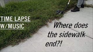 New Property Tall Grass Edging Clean-Up (Time Lapse w/Music)
