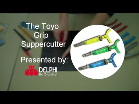 The Toyo Thomas Grip Super Cutter | Delphi Glass