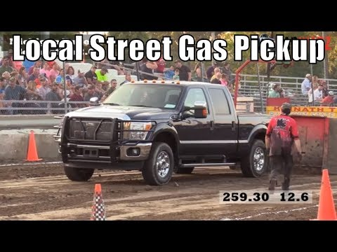 Local Street Gas Pickup Class Truck Pulls From TTPA In Bay City Michigan 2018