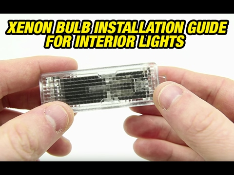 Bimmian NEW Xenon Bulb BMW Installation Guide For Interior Lights