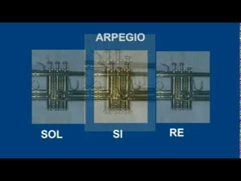 Guia para Tocar ARPEGIO y ACORDE TROMPETA SIb