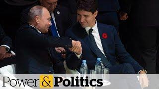 Trudeau speaks with Putin at Paris forum | Power & Politics