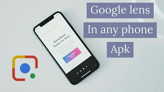 How to download google lens 100% working on android || by Android Tech tube