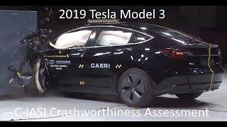 2019-2021 Tesla Model 3 C-IASI Crashworthiness Tests