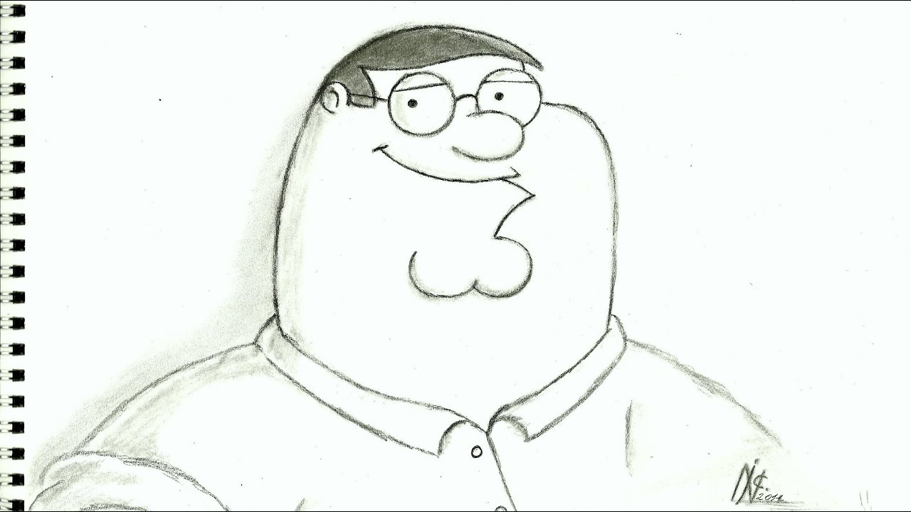 How To Draw Peter Griffin