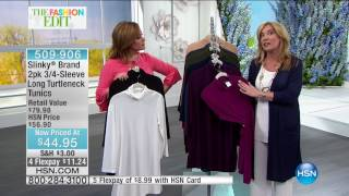 HSN | Slinky Brand Fashions 02.25.2017 - 08 AM