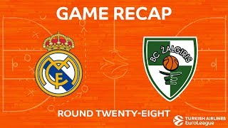 Highlights: Real Madrid - Zalgiris Kaunas