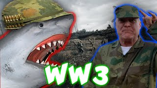 SHARK PUPPET IN WW3!!!!!