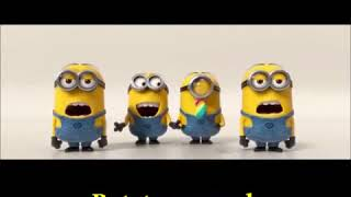 Banana song  banana pesme 1 min  Minions