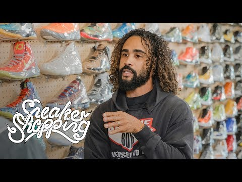 Jerry Lorenzo Goes Sneaker Shopping With Complex
