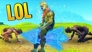FUNNIEST ROCKET RODEO PLAYS   Fortnite Best Stream Moments #63 (Battle Royale)