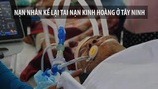 Khoảnh khắc tai nạn thảm khốc ở Tây Ninh khiến 16 người chết và bị thương