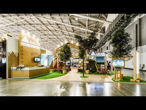 2013台北國際電腦展─台達陽光小學  傳達品牌綠色理念