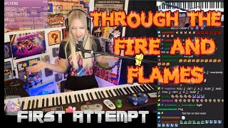 Through the Fire and Flames: 1st time Listen and Learn: A HOT MESS