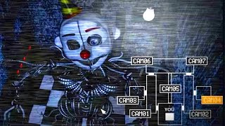 Five Nights at Freddy's: Sister Location - Secret Room Gameplay!