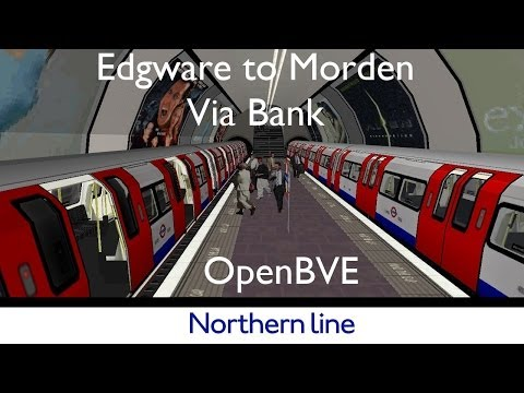 Clondoner92 Northern Line For Openbve Edgware To Morden Via Bank