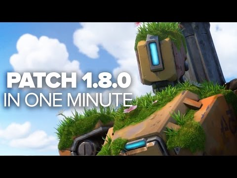 Overwatch Patch 1.8.0 in a Minute