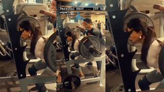 Watch: Samantha gym workouts lifting 100 kgs squats..