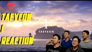 "[4LadsReact] TAEYEON (태연) ft. Verbal Jint - ""I"" MV Reaction"