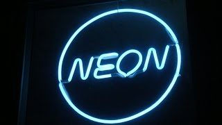 How to make Neon Signs | Neon Lighting | Neon Tube Bending | wanted job