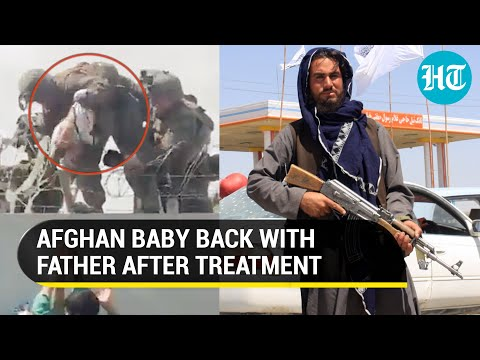 Afghan baby lifted over wall by US marine at Kabul airport reunited with father: Kirby