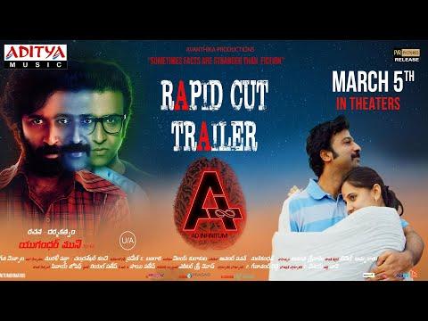 Rapid cut trailer of movie 'A' ft. Nithin Prasanna, Preethi Asrani