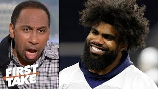 It's blasphemy to say Zeke will lead Cowboys to Super Bowl - Stephen A. to Damien Woody | First Take