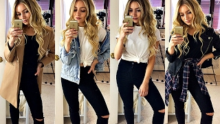HOW TO MAKE ANY BASIC OUTFIT LOOK GOOD! / FASHION HACKS - YouTube