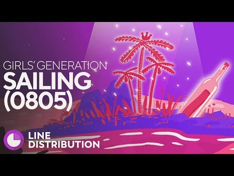 GIRLS' GENERATION - Sailing (0805) (Line Distribution)