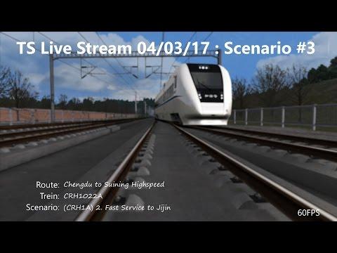 (CRH1A) 2. Fast Service to Jijin (Livestream 04/03/2017)