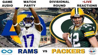 NFL DIVISIONAL ROUND: Los Angeles Rams vs Green Bay Packers