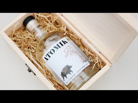 Atomik is artisan vodka brewed from crops grown near Chernobyl