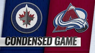 04/04/19 Condensed Game: Jets @ Avalanche