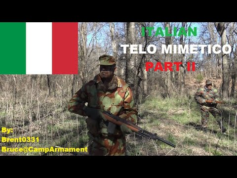 Italian Telo Mimetico PART II Camouflage Effectiveness