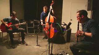 Jeremiah Cymerman, Trevor Dunn, Charlie Looker - at The Stone, NYC - April 13 2017