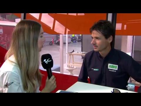LIVE ? Join #MotoGP reporter Amy Dargan and 1999 500cc World Champion Alex Criville