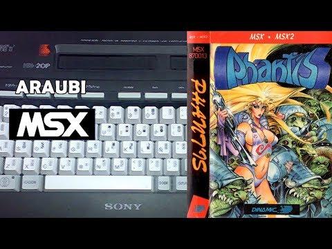 Phantis (Dinamic, 1987) MSX [172] El Kiosko