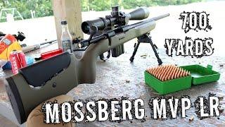 Mossberg MVP LR (.223) at 700 yards