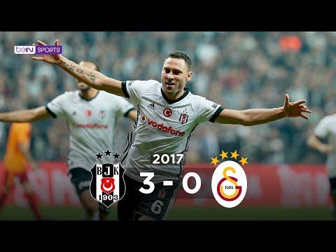 Beşiktaş 3 - 0 Galatasaray #Özet